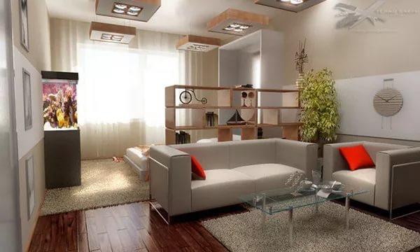 Перепланировка однокомнатной квартиры: варианты передела 1 комнатной хрущевки в 2 комнатную, примеры переустройства жилья площадью 30 кв м