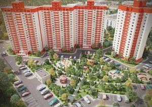 Придомовая территория многоквартирного дома: сколько считается метров от дома, от забора; расчет, размер, расстояние и площадь