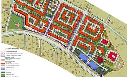 Проект планировки и межевания территории застроенного земельного участка для перераспределения, а также схема использования собственности в период подготовки