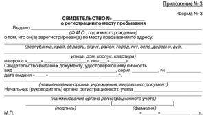 Что нужно помимо согласия собственника на регистрацию по месту жительства? Как выглядит бланк заявление-разрешение на прописку: пример образца