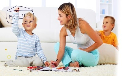 Как подарить доли в квартире несовершеннолетнему ребенку: образец договора дарения по материнскому капиталу и универсальный бланк