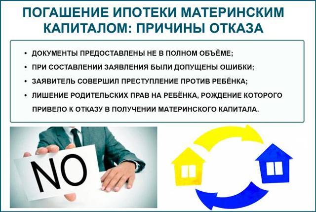 Документы в пенсионный фонд для гашения ипотеки материнским капиталом: процедура подготовки бумаг в ПФР